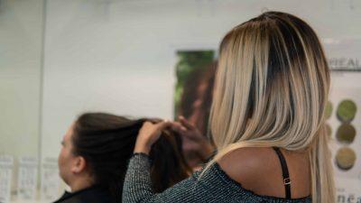 Dameskapper voor alle haarstijlen kapsalon